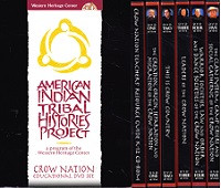 Crow Nation Educational Set of 5 DVDs, CDRom in Slipcase