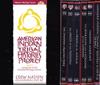 Northern Cheyenne Educational Set, 5 DVDs, CDRom in Slipcase