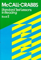 McCall-Crabbs Standard Test Lessons in Reading, Book E Set