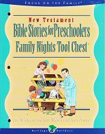 Family Nights Tool Chest: Bible Stories for Preschoolers, NT