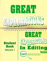 Great Explorations in Editing Series, Vol. 1, Set