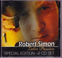 Robert Simon Latin Passion, Special Edition 2 CD Set
