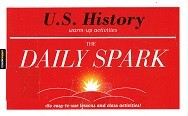 Daily Spark: WU.S. History warm-up activities