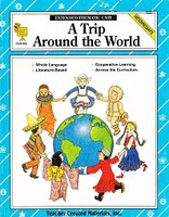 Trip Around the World Extended Thematic Unit, Intermediate