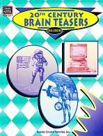 20th Century Brain Teasers, Challenging