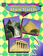 Ancient Civilizations Brain Teasers, Challenging