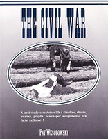 Civil War: Unit Study with Timeline, Charts, Puzzles, Graphs