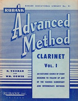 Rubank Advanced Method, Clarinet Volume 1