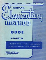 Rubank Elementary Method, Oboe