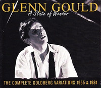 Glenn Gould: A State of Wonder, 3 CD Set