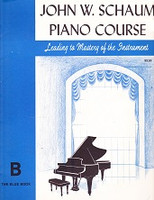 John W. Schaum Piano Course Leading to Mastery, B Blue Bk.