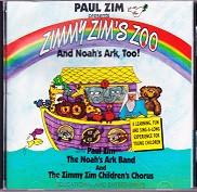 Paul Zim presents Zimmy Zim's Zoo and Noah's Ark, Too! CD