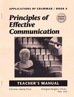 Principles of Effective Communication, Answer Key; revised