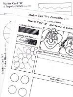 God & the History of Art Paint & Marker Cards Set (MILD0472m)