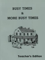 Busy Times & More Busy Times 2, Workbook Teacher Edition (SLL07737)