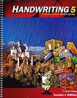 Handwriting 5, 2d ed., Teacher Edition (SLL08718)