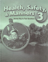 Health, Safety & Manners 3, Text Answer Key (SOL00139)