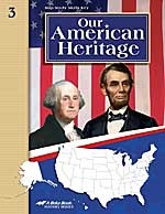 Our American Heritage 3, Map Study Key (SOL00628)