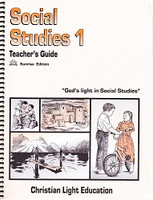 Social Studies 1, Teacher Guidebook, Sunrise Edition (SOL01098)