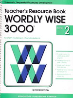 Wordly Wise 3000, Level 2, 2d ed., Teacher Resource Book (SOL01649)