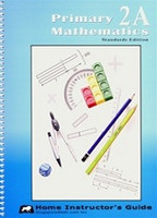 Singapore Primary Mathematics 2A Home Instructor Guide (SOL02590)