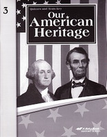 Our American Heritage 3, Quiz-Test Key (SOL03112)