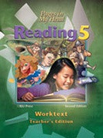 Reading 5: Pages in My Head, Worktext Teacher Edition (SOL05684)