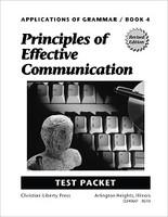 Grammar 10: Principles of Effective Communication, Tests (SOLAR07118)