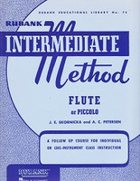 Rubank Intermediate Method, Flute or Piccolo (YOUS1299)