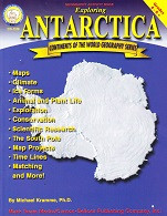 Exploring Antarctica Geography Activity Book