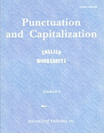 English 3-5: Punctuation and Capitalization, Set