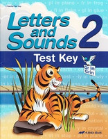 Letters and Sounds 2, Test Key