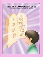 Ten Commandments: Illustrated Bible Passage, Young Children