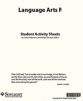 Sonlight Language Arts 5, 2010 student activity sheet set