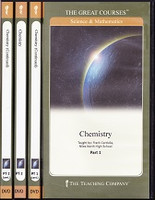 Great Courses Chemistry, 1st ed., 6 DVD, 2 Booklet Set
