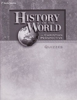 History of the World 7, Quiz Key