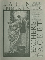 Latin Primer I Video, Teacher Packet