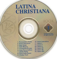 Latina Christiana, Book 1, Pronunciation CD