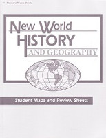 New World History and Geography 6, Maps & Review Sheets