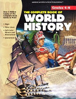 Complete Book of World History, Grades 4-8