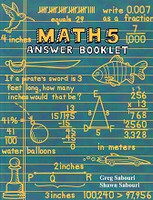 Teaching Textbooks Math 5 Answer Booklet