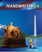 Handwriting 4, 2d ed., Teacher Edition