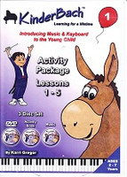 KinderBach 1 Activity Package, Lessons 1-5
