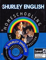 Shurley English 4 Homeschooling CD & Teacher Manual Set