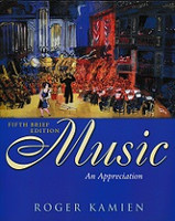 Music: An Appreciation, 5th brief edition, text & CDRom Set