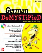 German Demystified: hard stuff made easy; 2d ed.