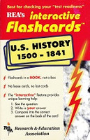 U.S. History 1500-1841 Flashcards in a Book