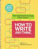 How to Write Anything, a Guide and Reference
