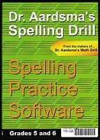 Dr. Aardsma's Spelling Drill, Grades 5-6