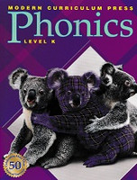 Modern Curriculum Press Phonics, Level K (Plaid)